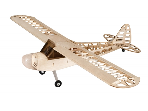 Free Shipping S08 J3 CUB Laser Cut Balsawood Airplane 1200mm Wingspan RC Radio Control toy hobby Balsa KIT Dancing Wings Hobby
