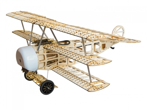 S17 Balsawood Airplane KIT Fokker-DRI 770mm Free shipping
