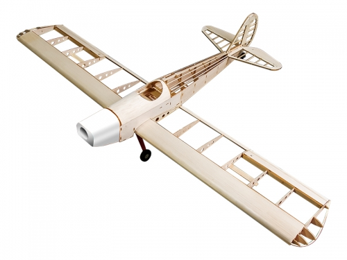 S10 Balsa wood Airplane KIT 1200mm Space Walker()