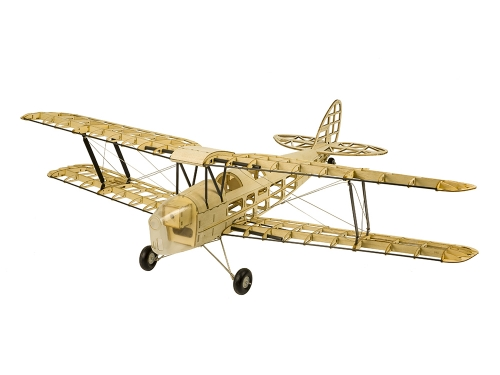 Free shipping S19 Balsawood KIT Scale Aircraft Tiger Moth 980mm Flying Electric Aircraft Toy Hobby RC Plane Model Aeroplane to Build