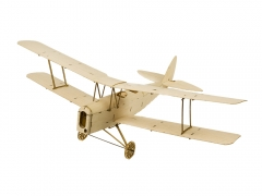K10 Mini RC Balsawood Airplane KIT 400mm Tiger Moth Free Shipping