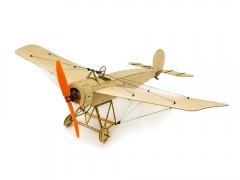 K08 Mini BalsaWood Airplane RC Fokker E.III  420mm