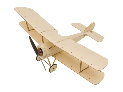 K06 Mini RC Balsawood Airplane KIT 358mm Sopwith Pup Free Shipping