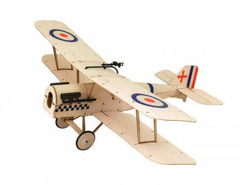 Free Shipping K04 378mm Wingspan SE5A Mini RC Laser Cut Balsawood Airplane KIT Ultra-micro flying Dancing Wings Hobby