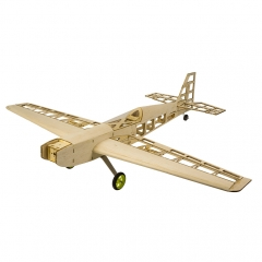 T10 Balsa wood Airplane 800mm Wingspan Training Plane
