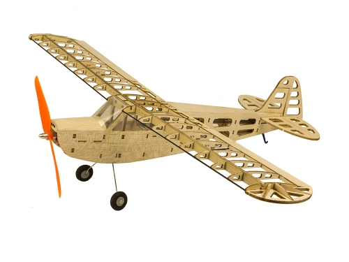 T08 Balsa wood Airplane EP Power 600mm Laser Cut J3