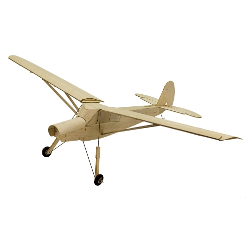 R02 Balsawood Airplane For Beginner Training Plane KIT Fi156 777mm