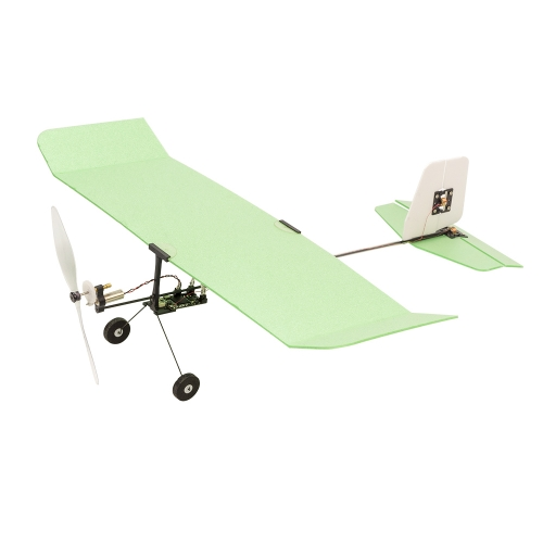 E23 Indoor mini Foamy Electric Model Airplane ICE CREAM  226mm Dancing Wings Hobby Free Shipping