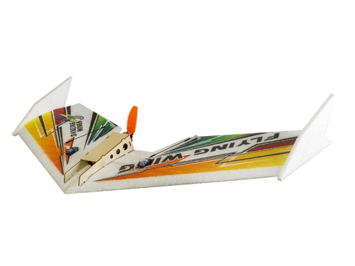 E04 600mm EPP Airplane Model Rainbow RC Flying Wing Radio Control Aircraft Dancing Wings Hobby
