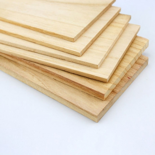 LS-QM AAA+ Balsa Wood Sheet ply 500mm thick for airplane/boat model DIY Dancing Wing Hobby Free Shipping