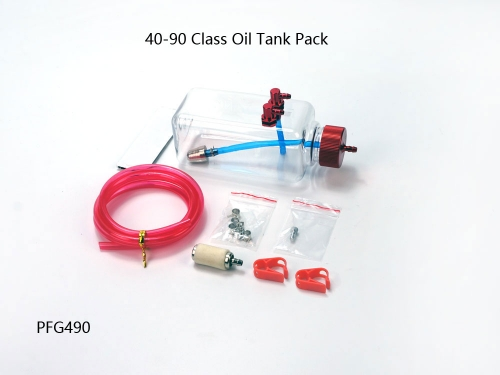 Oil Tank 40-90 Class Pack Parts for Balsa kits Dancing Wings Hobby Free Shipping