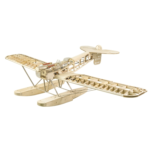 S26  Balsa KIT Scale Airplane Hansa-Brandenburg W.29  seaplane 1400mm 55inch Free Shipping