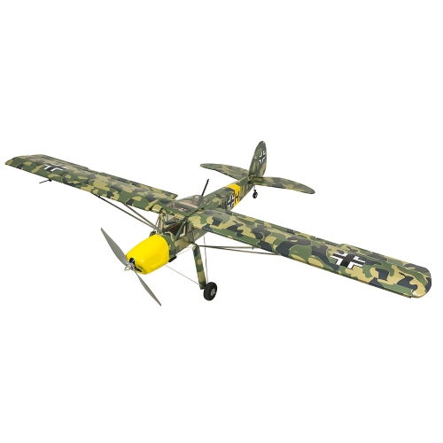 ARF Fieseler Fi156 1600mm/1.6M Balsawood Scale Airplane Toy Hobby Flying Aircraft  Radio Control Aeroplane to Build Dancing Wings Hobby(SCG21)