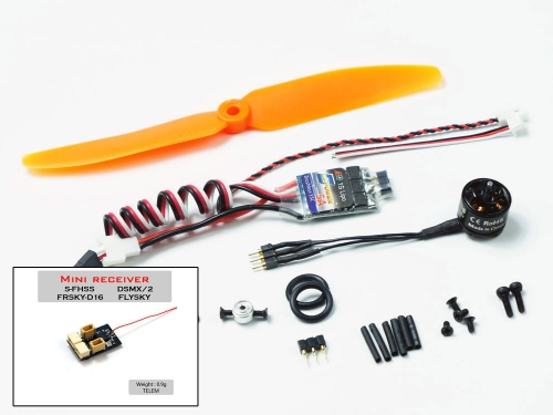 (Mini plug) ACM1108-1S 5inch 1108 MINI Power System Combo