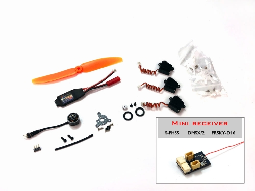 (Mini plug)2S 5inch 1106 Micro Power System Combo