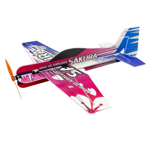 Free Shipping PP/EPP 3D RC Electric Airplane Radio Control Model F3P SAKURA 420mm Dancing Wing Hobby (E211)
