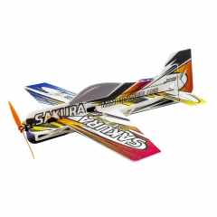 Free Shipping E210 3D Airplane F3P SAKURA Wingspan 420mm 3mm EPP Radio Control Toy Hobby  DIY  Aeroplane to Build
