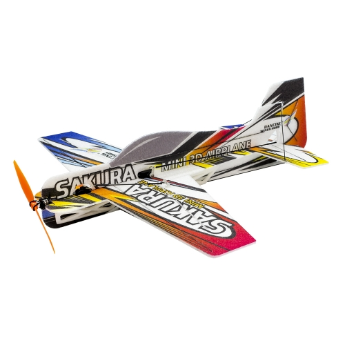 E210  3D Airplane F3P SAKURA 420mm  3mm EPP