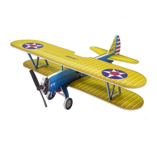 New Arrival PP radio control Aircraft Electric Aeroplane to Build RC Plane Model Foam Airplane Wingspan 450mm PT-17 KIT Toy Hobby (E25)