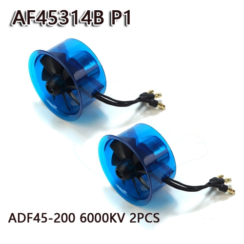 45mm EDF Power System 6000KV Electric Ducted Fan Series for RC Models Dancing Wing Hobby free shipping