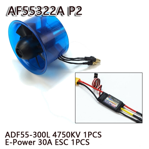 55mm EDF Power System 4750KV Electric Ducted Fan Series for RC Models Dancing Wing Hobby free shipping