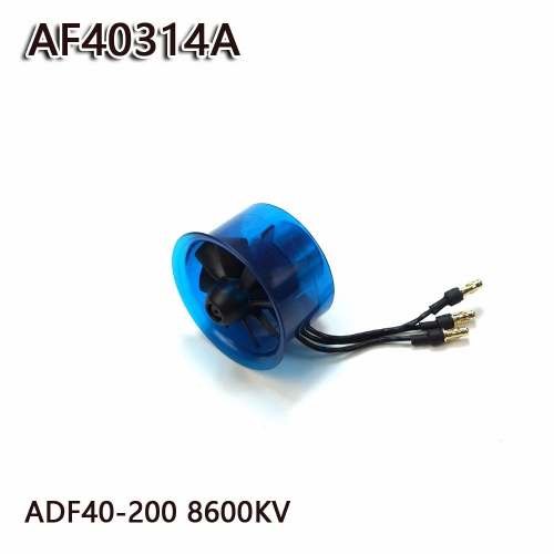 40mm EDF Power System 8600KV Electric Ducted Fan Series for RC Models Dancing Wing Hobby free shipping