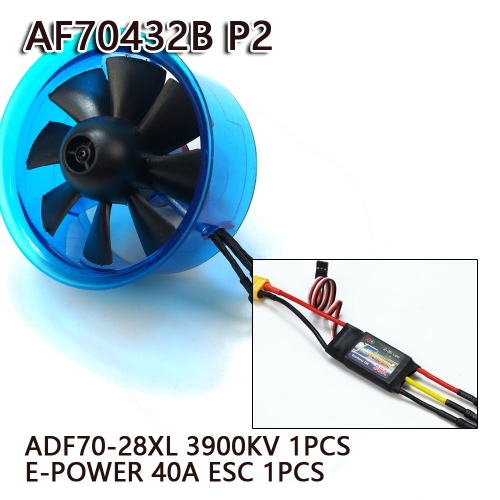 70mm EDF Power System 3900KV Electric Ducted Fan Series for RC Models Dancing Wing Hobby free shipping
