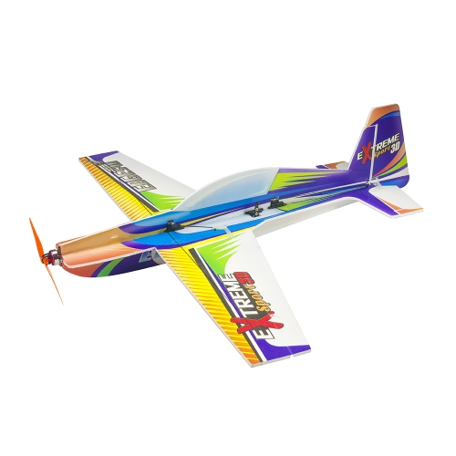 "2021 New 3D Flying Foam PP RC Airplane Xtreme Sports Airplane Model 710mm(28"") Wingspan Kit Hobby Toy Lightest Indoor Outside"