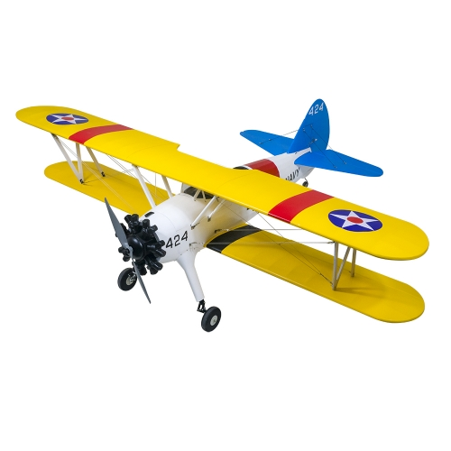 2021 New 1.6M PT-17 ARF Balaswood Airplane ARF