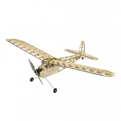 2021New 1.15M Cute Girl Retro Training Airplane Balsa Kit Need To Build Assemble(Z01)