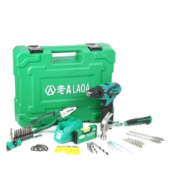 LAOA 50PC 12V Lithium electric drill tool sets