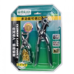 LAOA Hole Belt Punch Puncher Pliers Sets Hand Tools