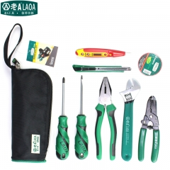 LAOA 8/9PCS Multifunction Household Tool Set Networking Pliers Repairing Tools Kit Ferramentas Herramientas Electricas Outillage