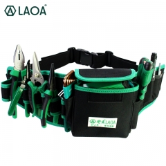 LAOA Waterproof Electrician Bag Double Layers Tool Bags Storage tools kit