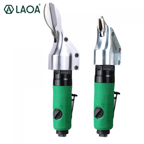 LAOA Pneumatic Scissors 2-blade type/3-blade Straight Gas Shear Cutting Iron 1.2mm / Shearing Aluminum 1.6mm