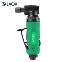"LAOA 1/4"" Pneumatic Grinder 6mm Chuck Air Polish Tool Air Grinder Industrial Polish Machine Grinding Sand Tools Made in Taiwan"