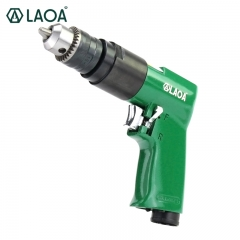 "LAOA 3/8"" Pneumatic Drill Air Threading Machine Forward and Pneumatic Screwdriver"