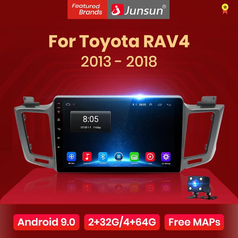 Junsun V1 2G+32G Android 9.0 4G Car Radio Multimedia Video ...
