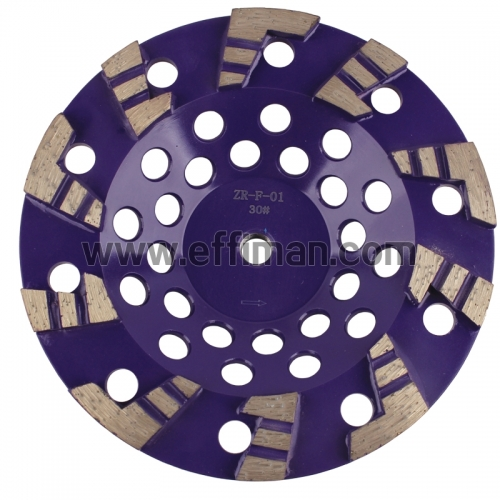 L-N Type Concrete grinding cup wheel/disc