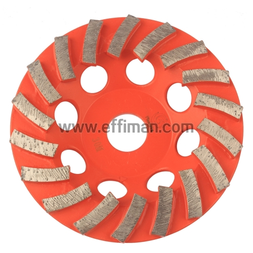 Radial Seg Concrete cup Grinding Wheel