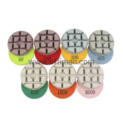 """NHD""New Hybrid Diamond polishing pad/Dry"