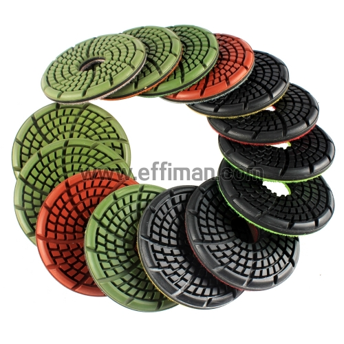 Phoenix GFLW3.5-3083 3.5 inch granite Floor Polishing Pads