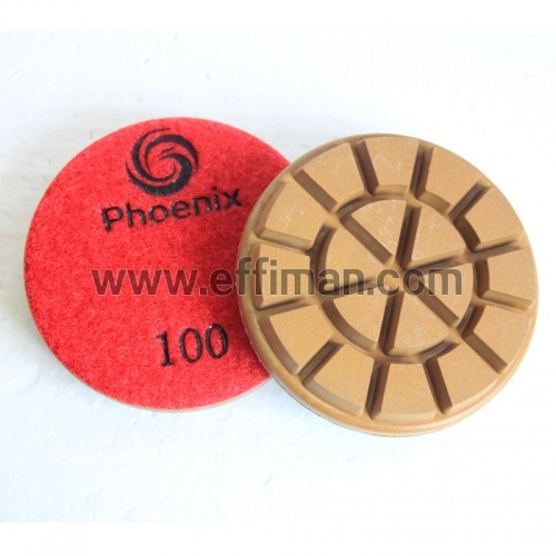 High Gloss HiCon3-3080 3 inch concrete floor polishing pads