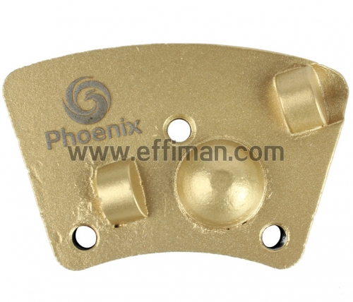 PCD Full Round Trapezoid Plate