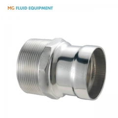 stainless steel socket welding male threaded end adaptor