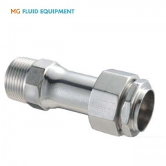 ss304 socket butt welded male threaded and female threaded adaptor