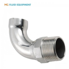 ss304 socket welded male 90 degree elbow