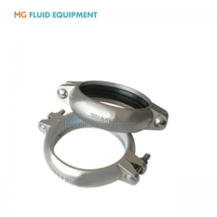 stainless steel groove clamp