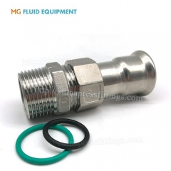 Press Fit Fittings Adapter Union Nut With Male Thread pipe fititngs