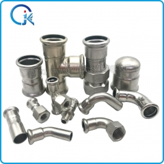 press fittings stainless steel factory price